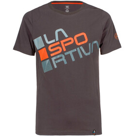 La Sportiva Square T-Shirt Men Carbon